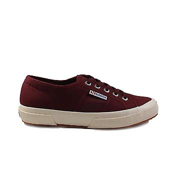 Superga Cotu Classic Canvas Burgundy Unisex Lace Up Shoes