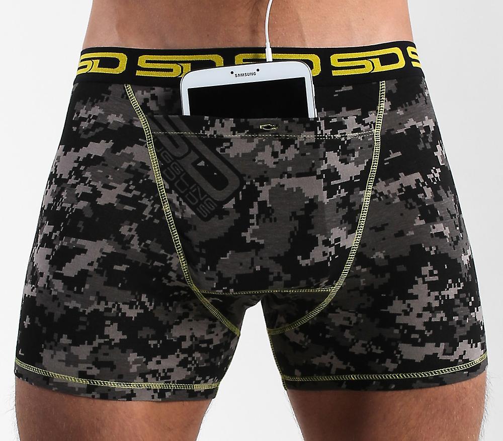 Smuggling Duds Pocket Underwear - Carbon Digi-cam