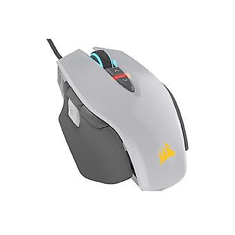 Corsair M65 Rgb Elite Tunable Fps Gaming Mouse White With Black