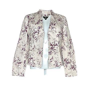 Dennis Basso Mujeres's Blazer Floral Impreso Rosa A264925