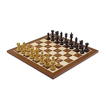 The Leningrad Mahogany Chess Set