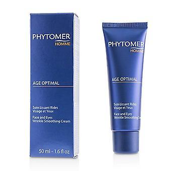 Phytomer Homme Age Optimal Face & Eyes Wrinkle Smoothing Cream 50ml/1.6oz