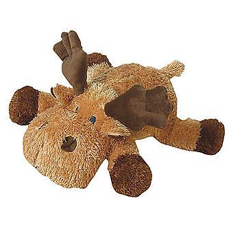 "Petlou Plush Colossals 14"" Moose Dog Toy"