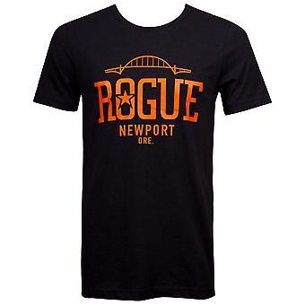 Rogue Ales Men's Black Newport T-Shirt