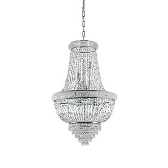 Ideal Lux Dubai Light Pendant Light Chrome IDL215969