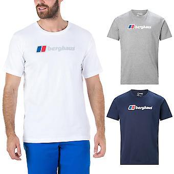 Berghaus Hombres Gran Corporate Logo Camiseta de Algodón Camiseta