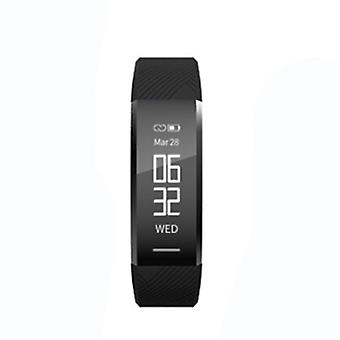 Activity bracelet with heart rate meter - black