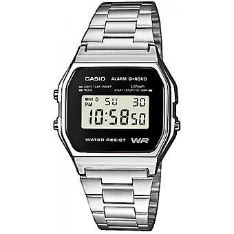 Casio Casio Collection A158WEA-1EF - Mann aus Stahl-Uhr
