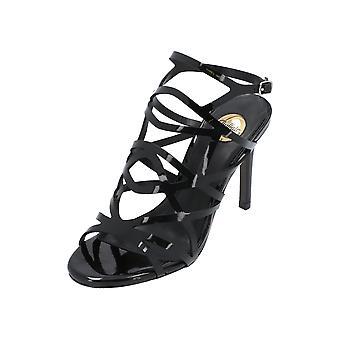 Buffalo 317-2933 Women's Sandals Black Flip-Flops Summer Shoes