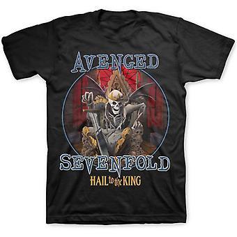 Avenged Sevenfold Hail til kongen A7X offisiell T-skjorte
