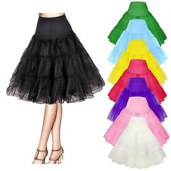 "26 "" Retro Underskirt/50er Jahre Swing Vintage Petticoat/Rockabilly Tutu/Fancy Net Rock"