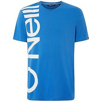 O'Neill Camiseta de Logotipo Oversize, Ruby Blue