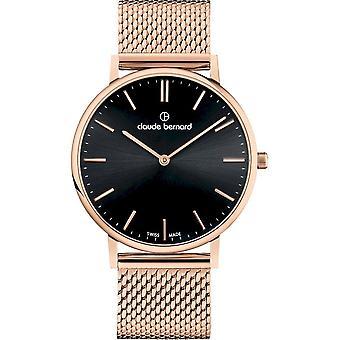 Claude Bernard - Wristwatch - Unisex - Slim Line 41 MM - 20219 37RM NIR