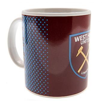 West Ham United FC Fade Mug