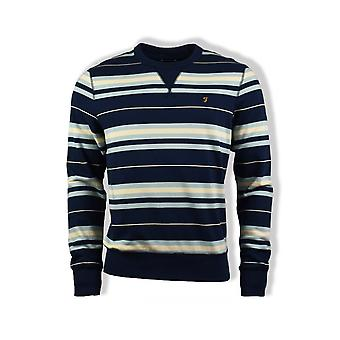 Farah Noble Striped Sweatshirt (Yale)