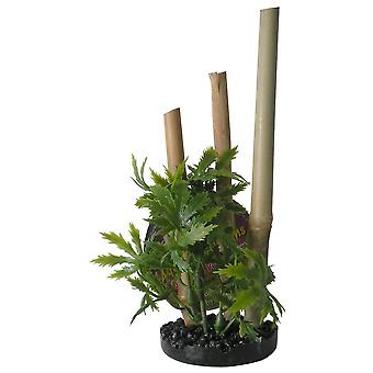 Sydeco Bamboo Plant S/Black (Fish , Decoration , Artificitial Plants)