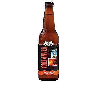 Grace Island Soda Ingwer Bier -( 2 Lt X 1 Flaschen)