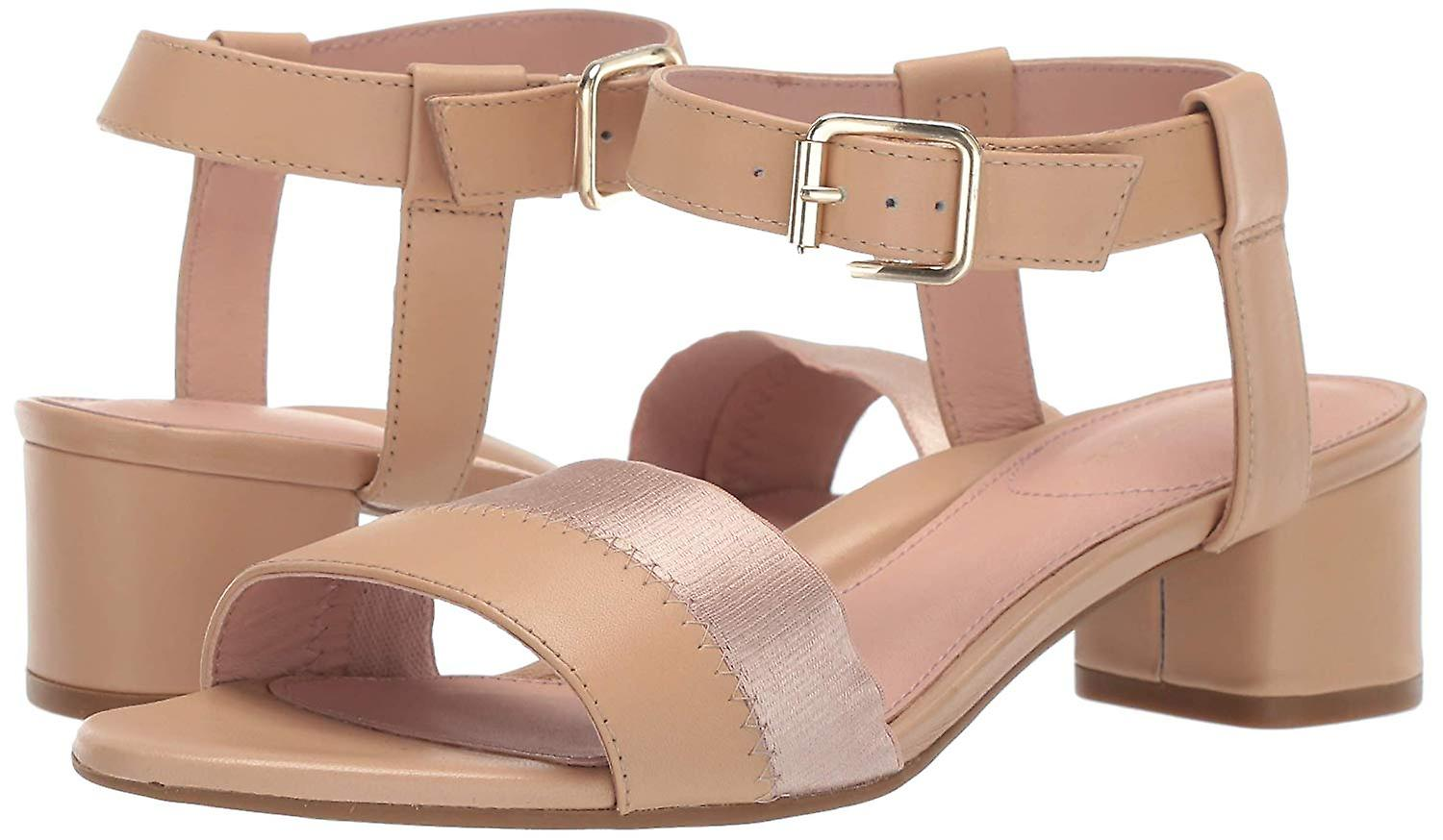 Taryn Rose Womens Makena Leather Open Toe Special Occasion Slingback Sandals S6jgB