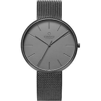 Obaku Hassel Smokey Men's Wristwatch V219GXUUMU
