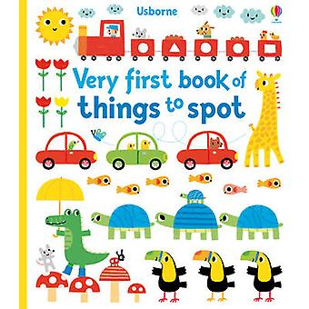 Very First Book of Things to Spot by Fiona Watt - 9781409581574 Book