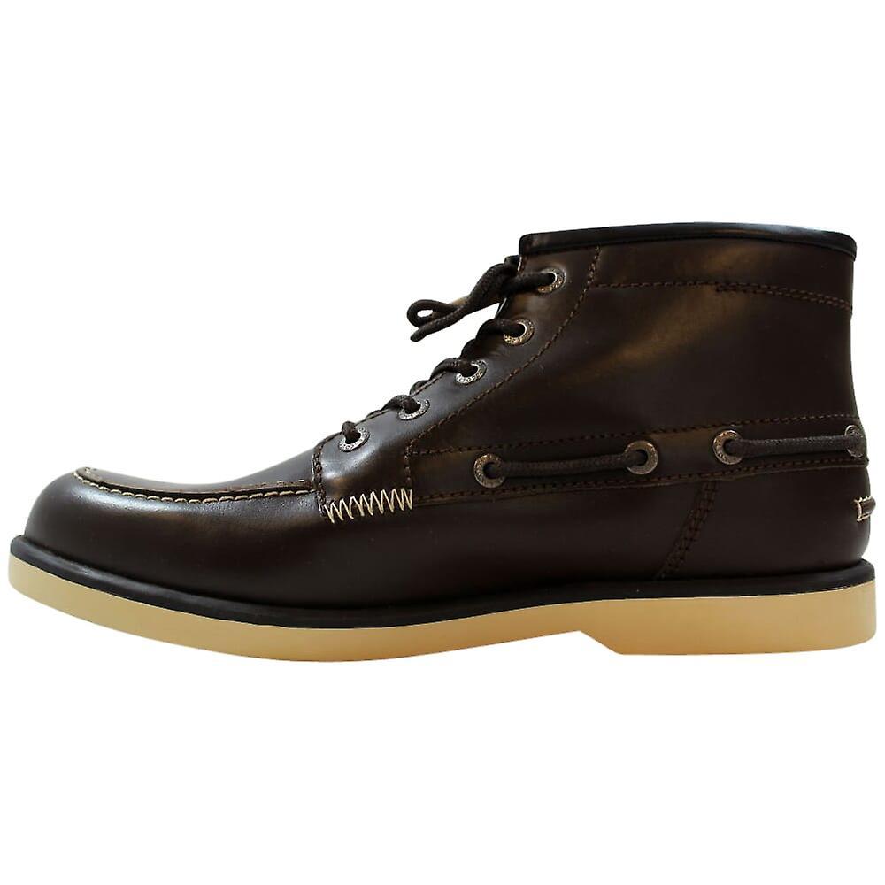 Lacoste Drapeau 2 Srm Leather Dark Brown 7-24srm2231176 Men's