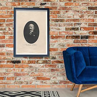 Winslow Homer - Self Portrait Poster Print Giclee