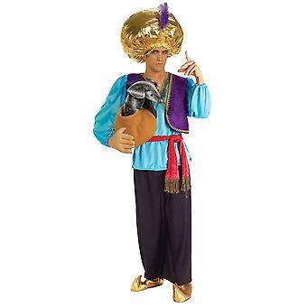 Snake Charmer Aladdin Arabian Genie Ali Baba Story Book Week Men Costume STD