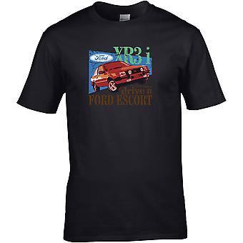 Drive a Ford Escort Xr3i - Car Motor - DTG Printed T-Shirt