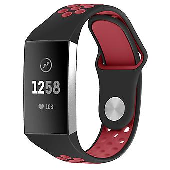 Pulsera de silicona Fitbit Charge 3 en dos tonos