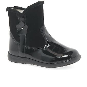 Kids at Clinks Isla Girls Zip Fastening Winter Boots