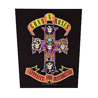 Guns N' Roses Appetite For Destruction Rugopnaaier