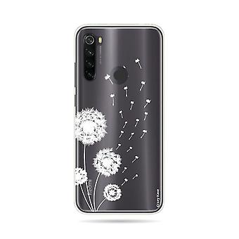 Hull For Xiaomi Redmi Note 8t Soft Pissenlit Flowers
