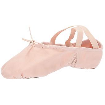 بلوخ الرقص المرأة & أبوس؛s أرابيسك قماش الرقص الأحذية الباليه الوردي 4.5 C الولايات المتحدة