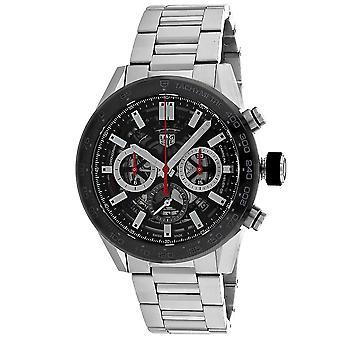 Tag Heuer Men's Carrera Calibre Black Dial Watch - CBG2A10.BA0654