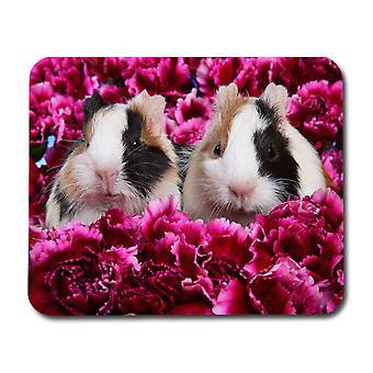 Tapis de souris de cochons de Guinée