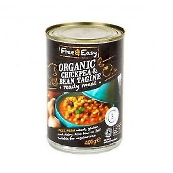 Free Natural - Organic Chickpea & Bean Tagin 400g