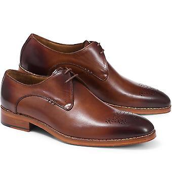 Jones Bootmaker Mens Leather Derby Shoe