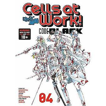 Cells At Work! Code Black 4 by Shigemitsu Harada - 9781632369437 Book