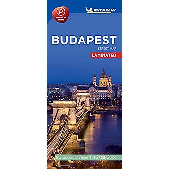 BUDAPEST - Michelin City Map 9220 - Laminated City Plan - 978206724068
