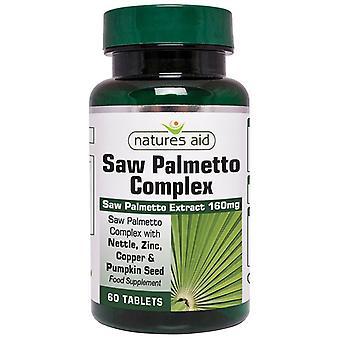 Natur & apos, stöd Saw Palmetto Komplexa tabletter 60 (121120)