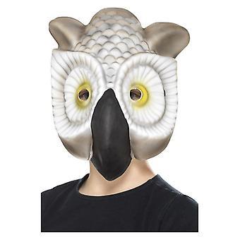 Detské Sova Vták tvár maska maškarné šaty príslušenstvo