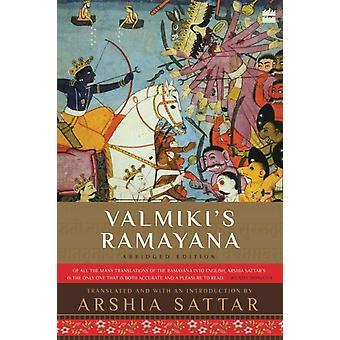 Valmikis Ramayana by Arshia Sattar