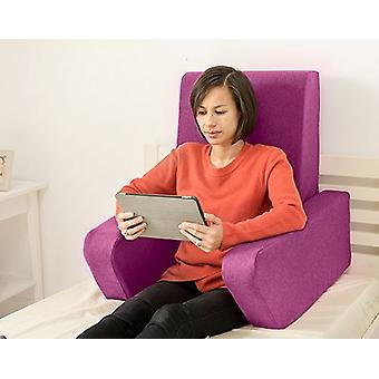 Mudando sofás Una Soft Wool Effect Leitura De Amortete o Trabalho De Volta Descanso - Cardo
