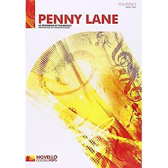 Beatles - Penny Lane (SSA/piano) - 9781780389486 Book