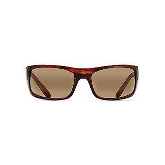 Maui Jim Peahi Wrap Sunglasses - Tortoise/HCL Bronze Polarized - Large