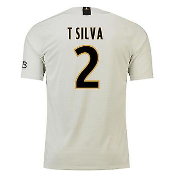 2018-19 Psg Away Football Shirt (T Silva 2)