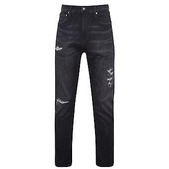 Calvin Klein Jeans Herren Logo zurück Print T-Shirt Kurzarm T-Shirt T-Shirt Top
