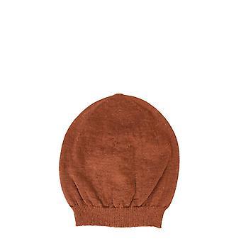 Rick Owens Ru20f3494kai173 Men's Brown Wool Hat