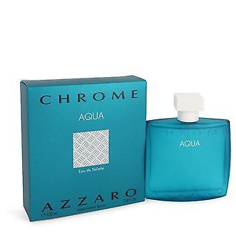 Chrome Aqua eau de toilette spray par Azzaro 3,4 oz eau de toilette spray