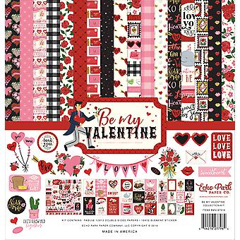 Echo Park Be My Valentine 12x12 Inch Collection Kit